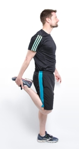Skiing Physiotherapy Brighton - Quad Stretch